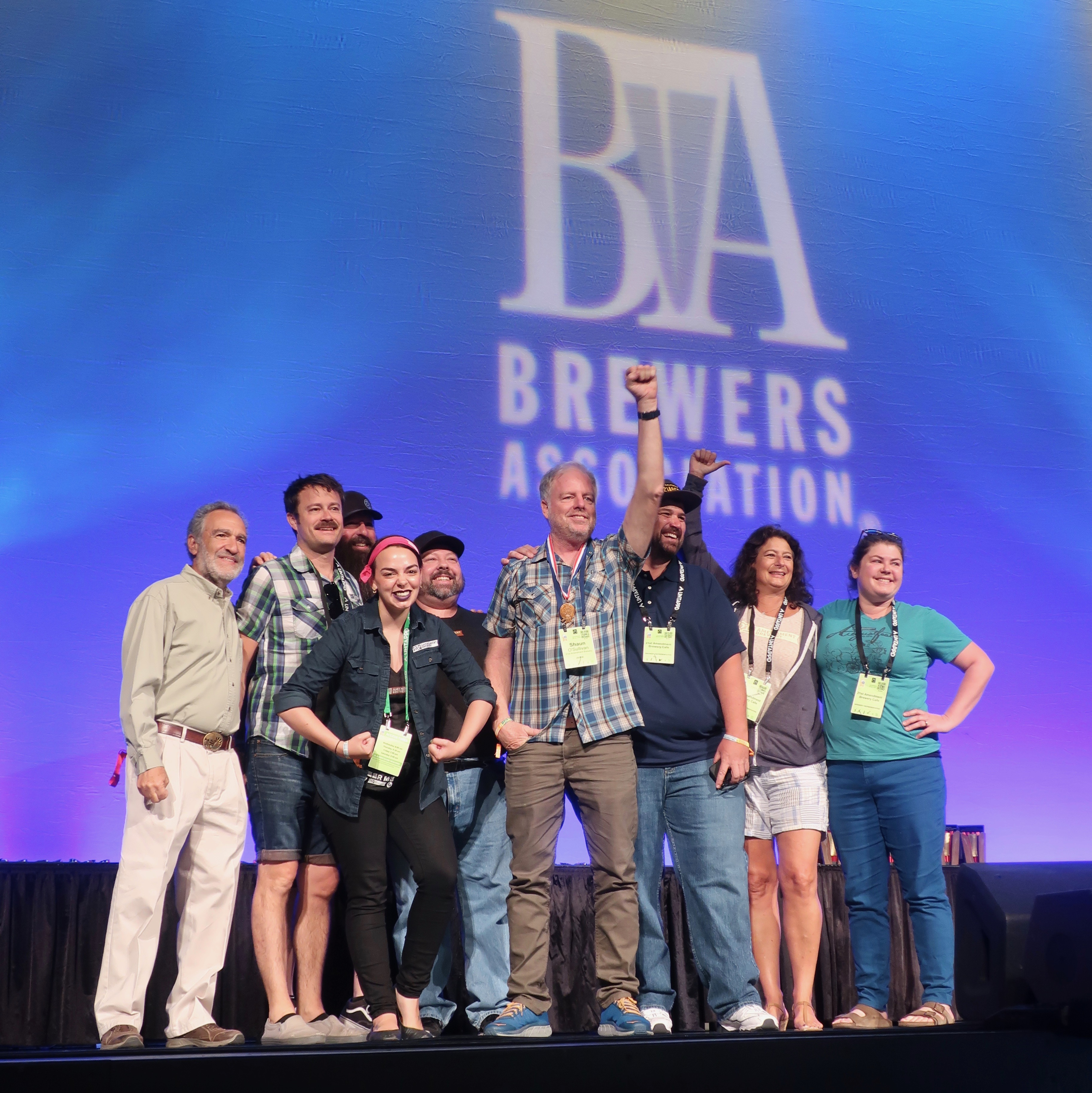 21st Amendment Brewery winning the bronze in American-style cream ale for El Sully at the 2018 Great American Beer Festival.