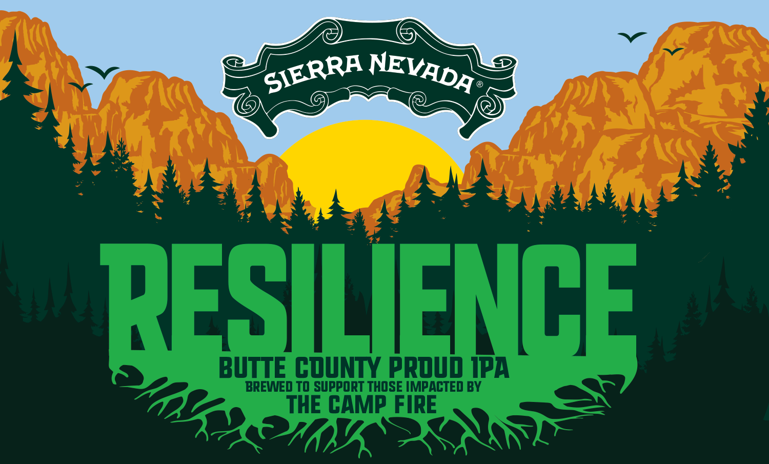 Sierra Nevada Ca: Sierra Nevada To Brew Camp Fire Fundraiser Beer