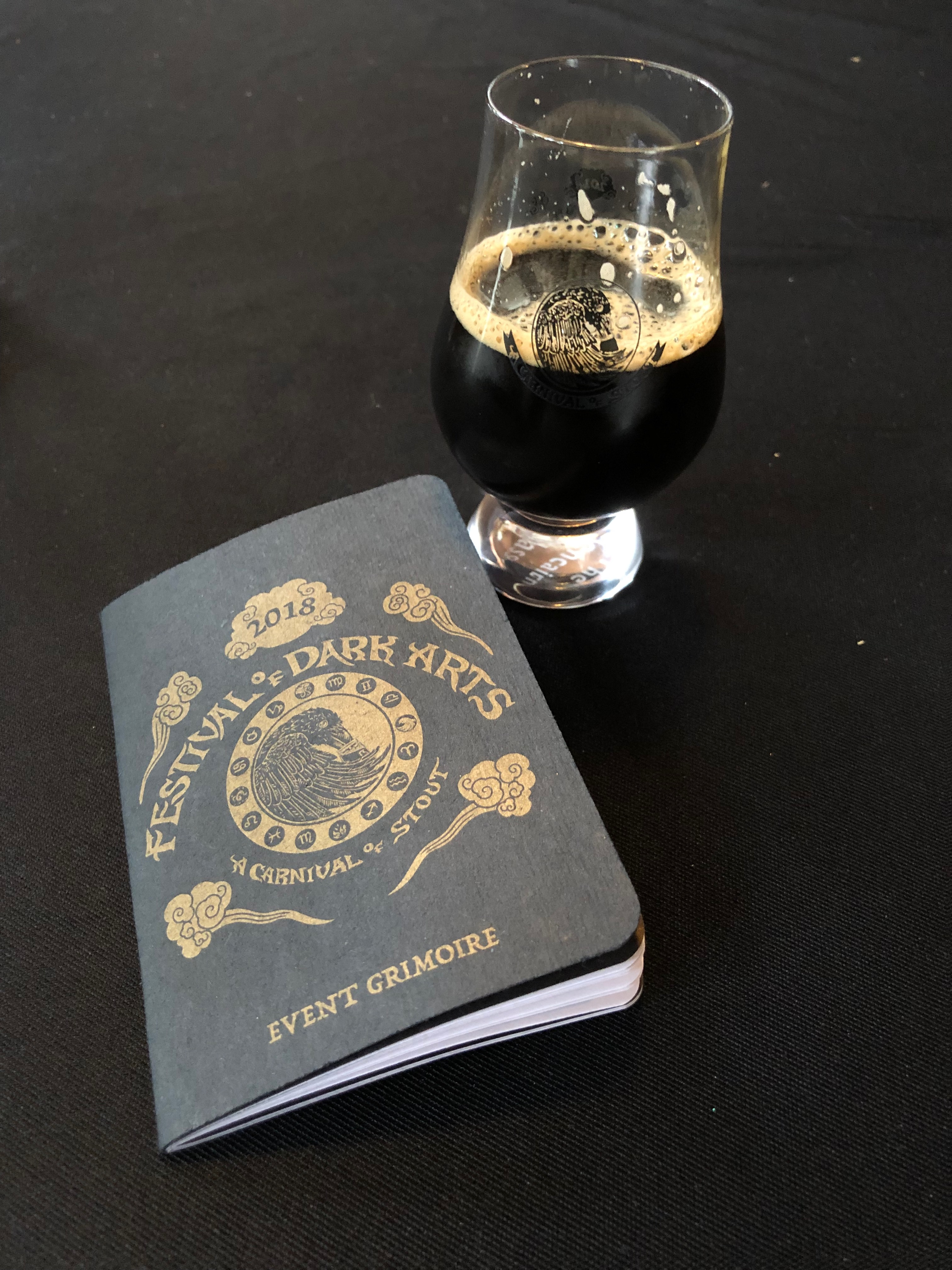 The 2018 Festival of Dark Arts at Fort George Brewery.