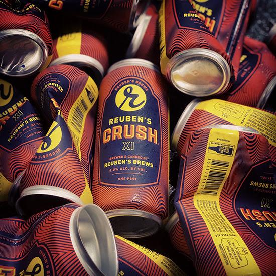 image of Crush XI courtesy of Reuben's Brews