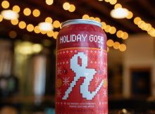image of Holiday Gose courtesy of Reuben's Brews