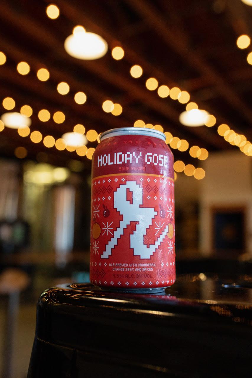 image of Holiday Gose courtesy of Reuben's Brews