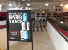 image of Migration Brewing Burger Shack courtesy of Migration Brewing