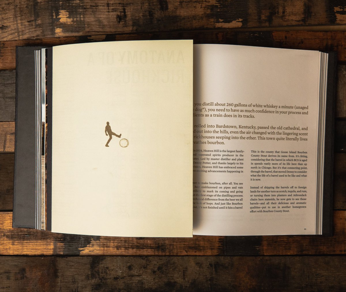 image of the inside of the book Grit & Grain courtesy of Goose Island Beer Co.