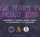 Bailey's Taproom New Years Eve 2018