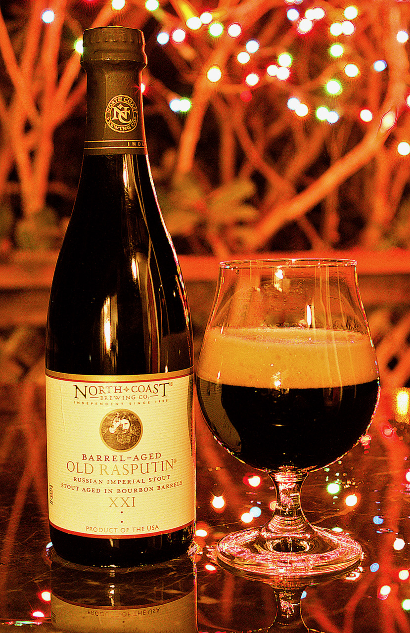 image of Barrel-Aged Old Rasputin XXI courtesy of North Coast Brewing