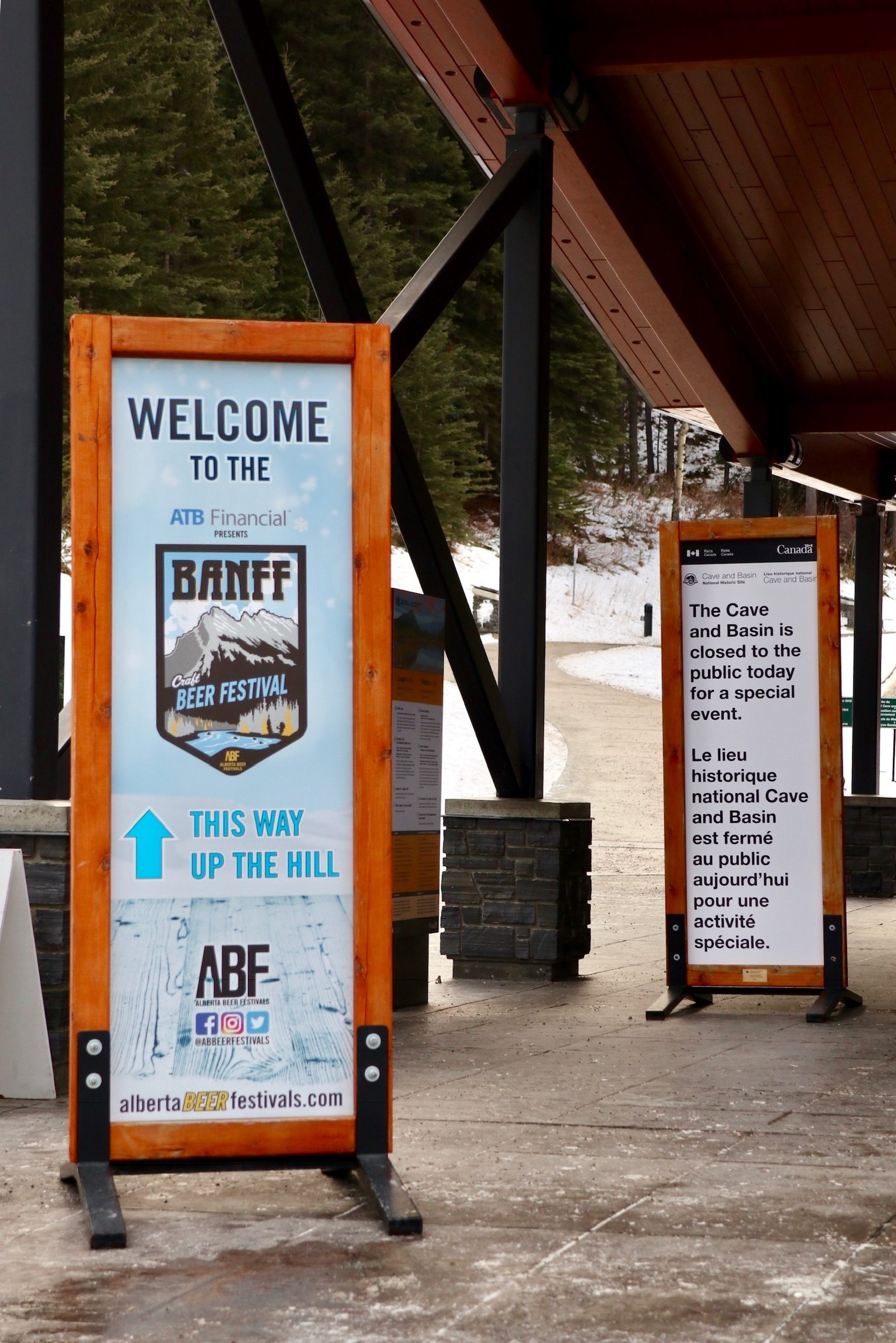 Welcome to Cave and Basin, part of the Banff Craft Beer Festival.