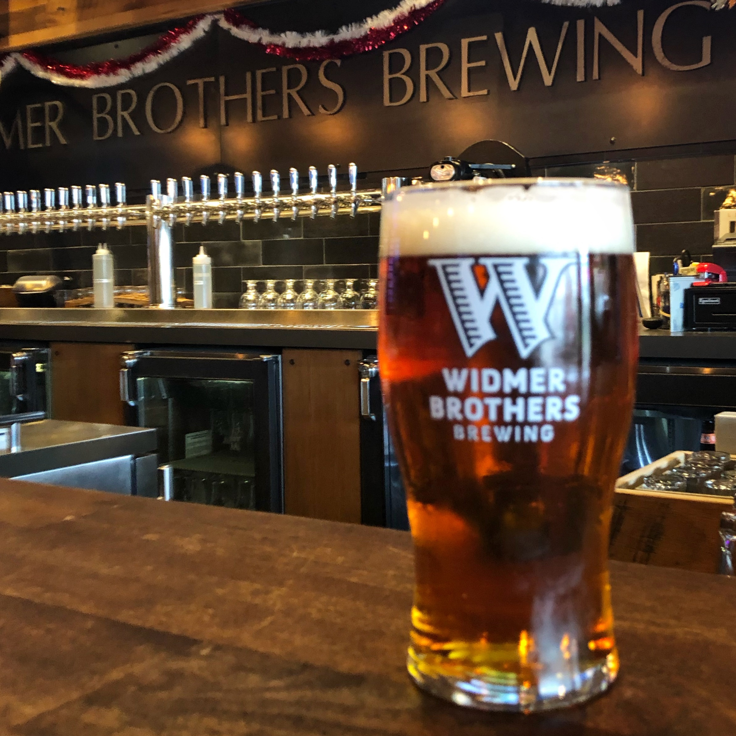 Widmer Brothers Brewing Resilience IPA poured at its release on Saturday, December 15, 2018.