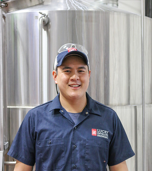 image of Barry Chan courtesy of Lucky Envelope Brewing