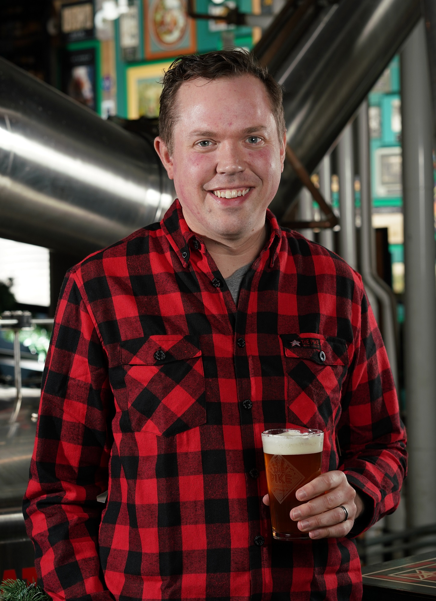 image of Drew Gillespie courtesy of Pike Brewing