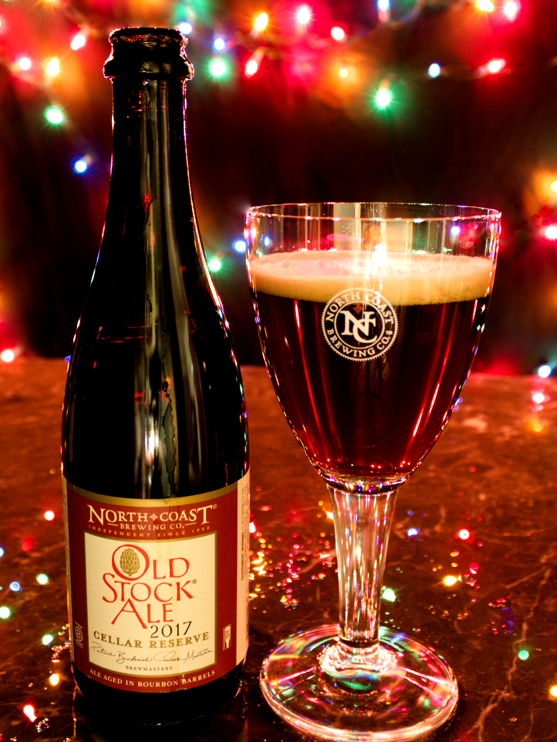 image of Old Stock Cellar Reserve courtesy of North Coast Brewing