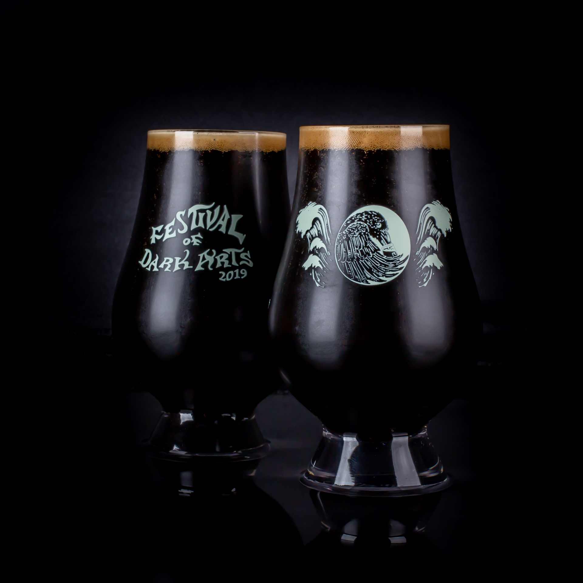 2019 Festival of Dark Arts Taster (image courtesy of Fort George Brewery)