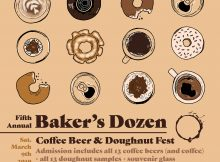 5th Annual Baker's Dozen 2019 Poster