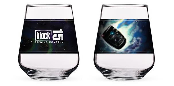 For the 2019 release of Super Nebular, Block 15 Brewing will be selling limited Super Nebula glassware.