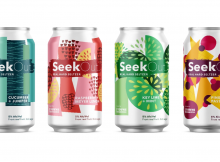 SeekOut Real Hard Seltzer by 2 Towns Ciderhouse