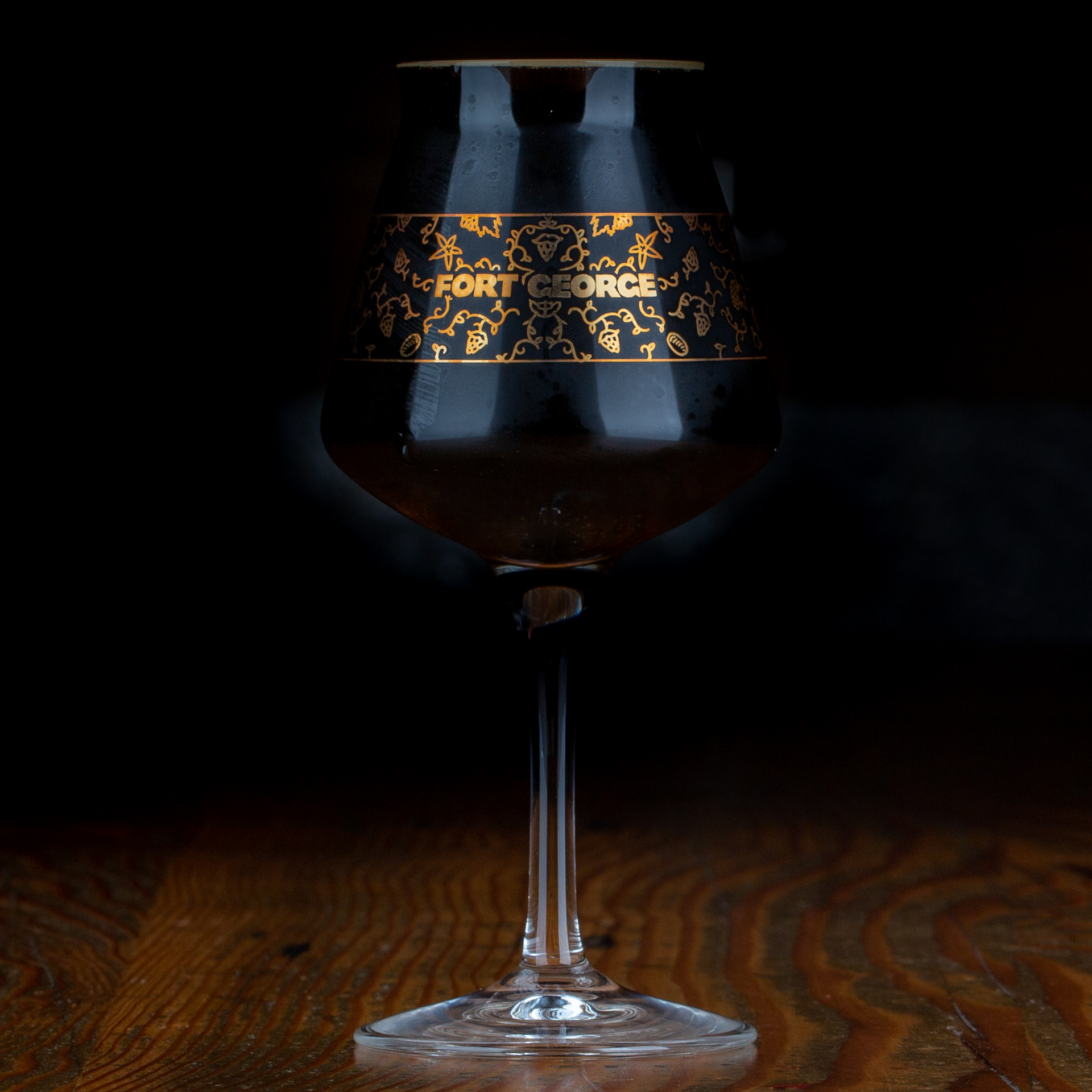 Stout Pour (image courtesy of Fort George Brewery)