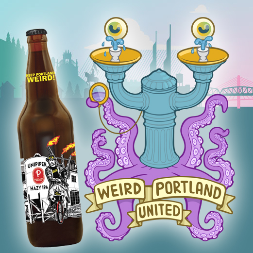 Unipiper Beer and Weird Portland United WPU