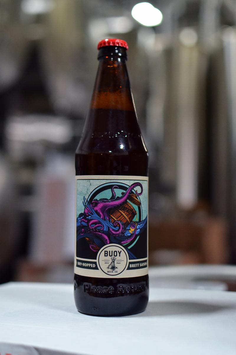 image of Buoy Foeder Series - Dry-Hopped Brett Saison courtesy of Buoy Beer