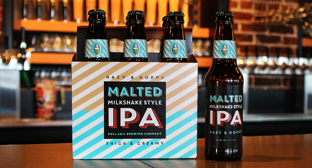 image of Malted Milkshake Style IPA courtesy of Full Sail Brewing