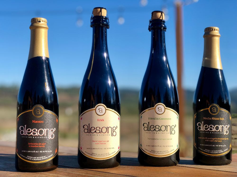 image of Winter 2019 Beer Releases courtesy of Alesong Brewing & Blending