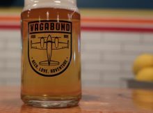 A beer at Vagabond Brewing Portland.