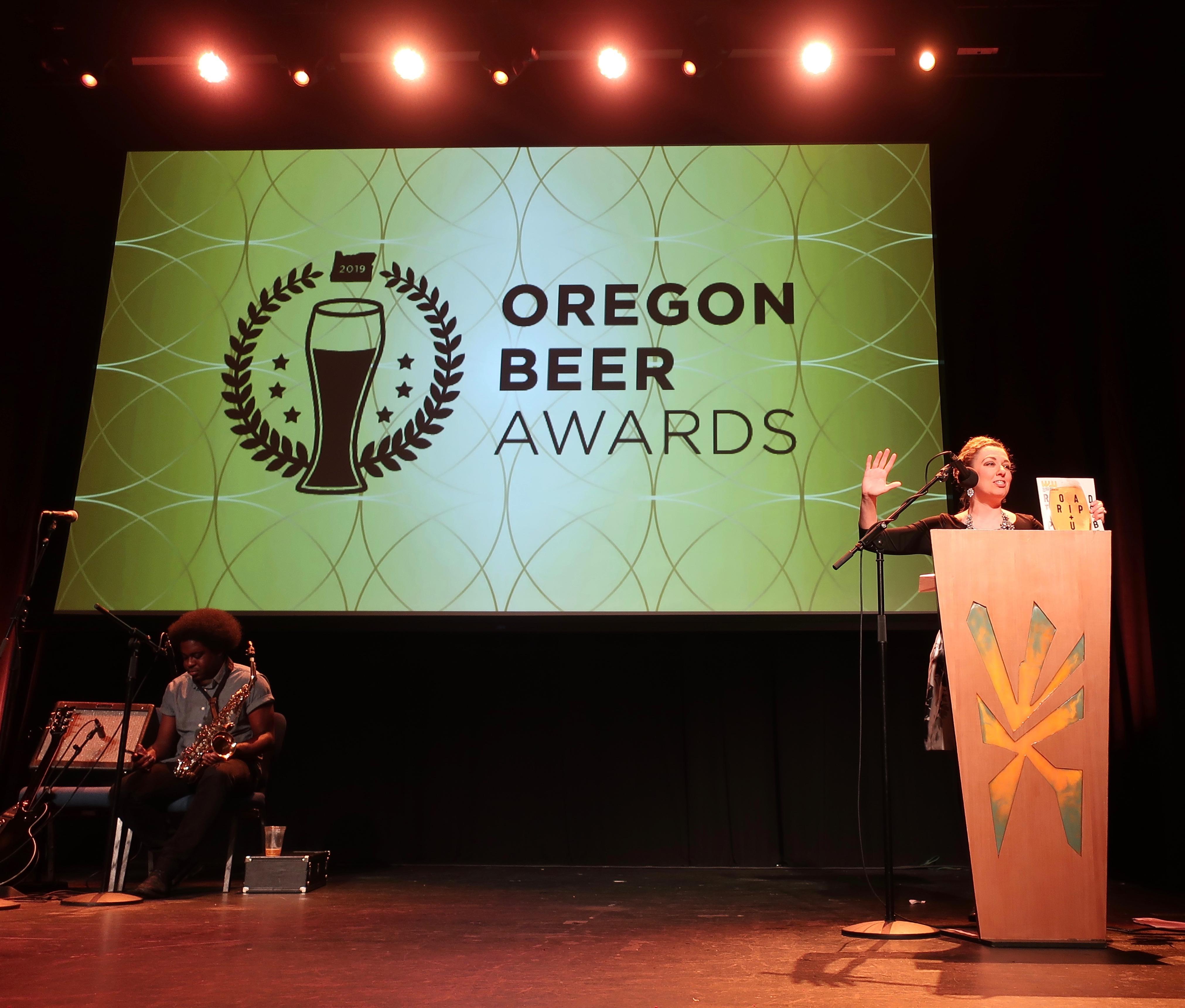 Andi Prewitt, writer of Willamette Week's 2019 Guide To Oregon Beer.