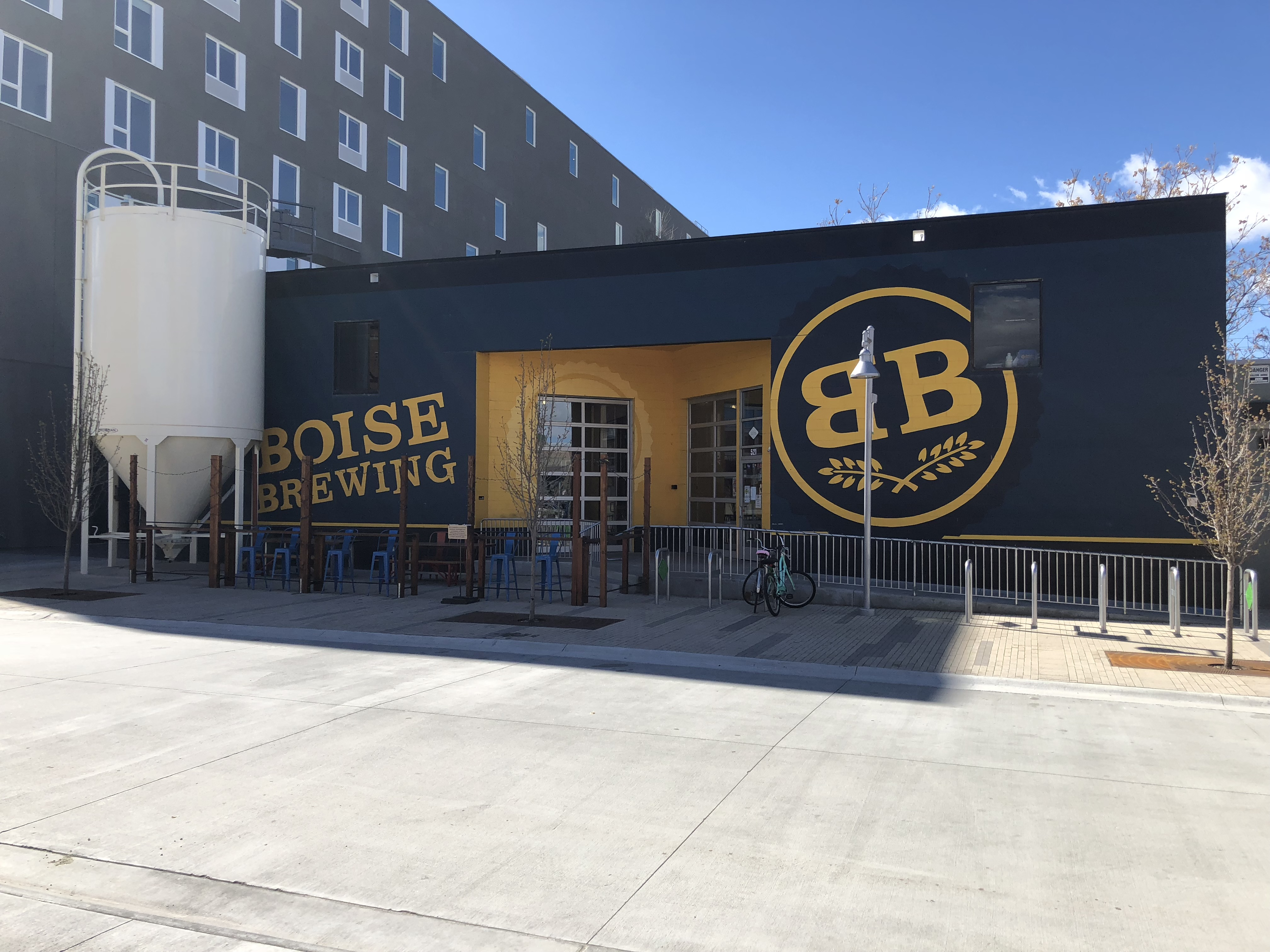 Boise Brewing on the south edge of downtown Boise.