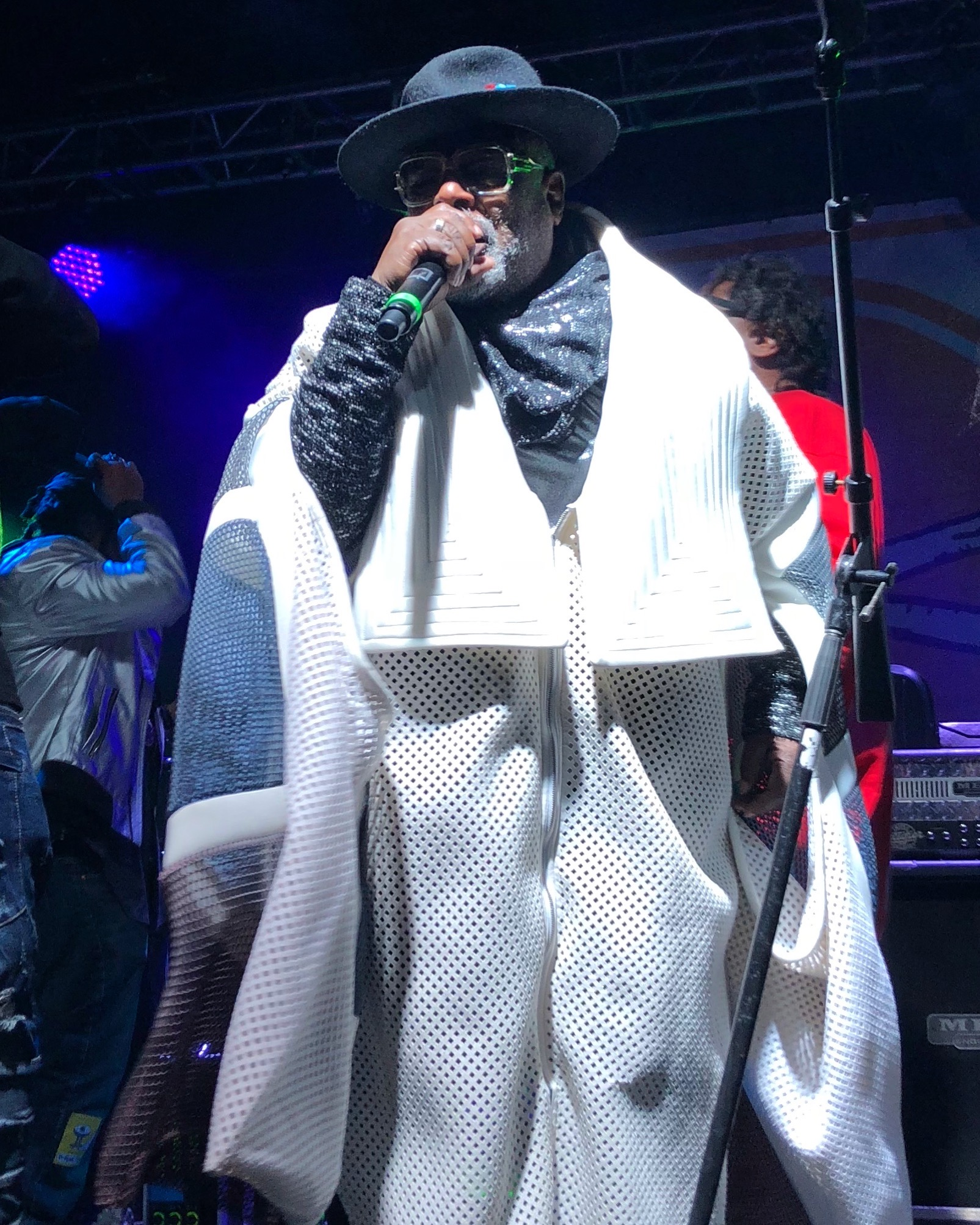 George Clinton took the stage at Treefort to an enthusiastic crowd.