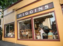 Higgins in downtown Portland. (photo courtesy of John Valls)