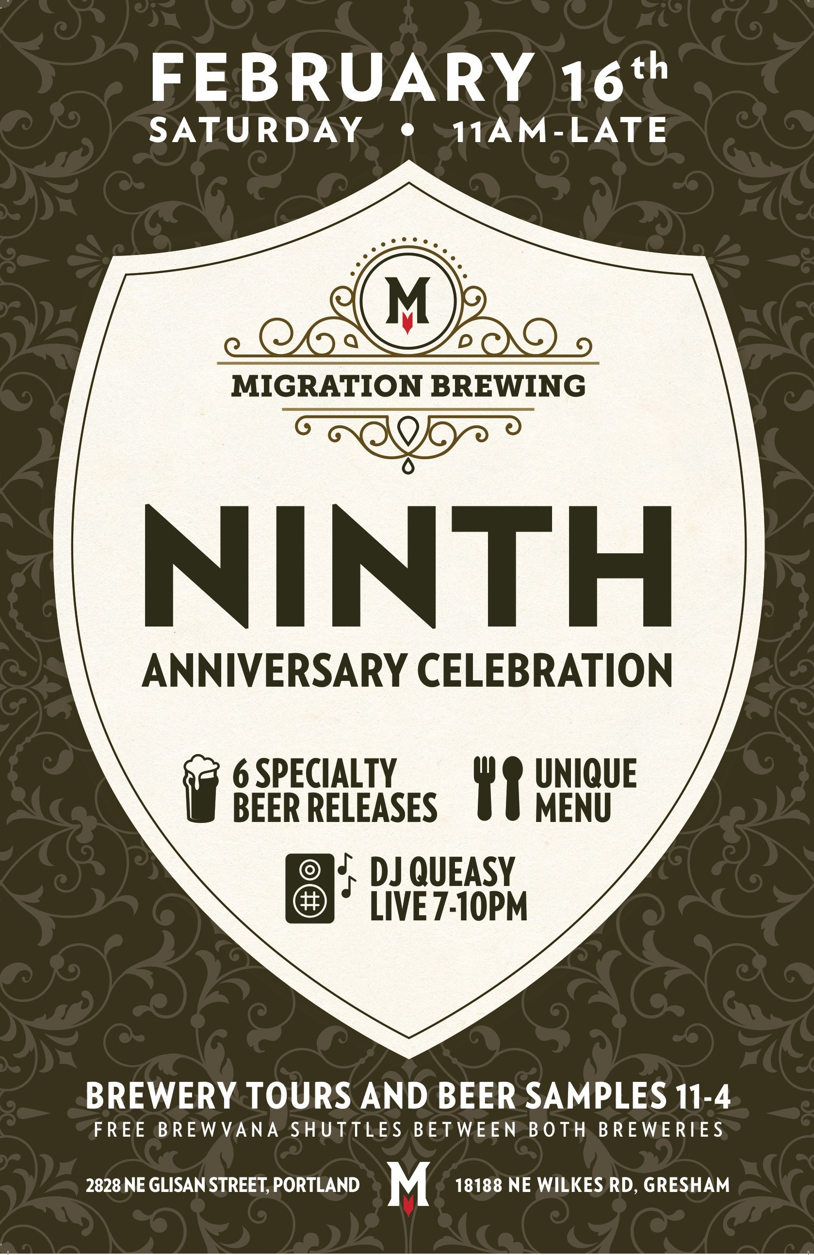 Migration Brewing - 9th Anniversary Poster v4
