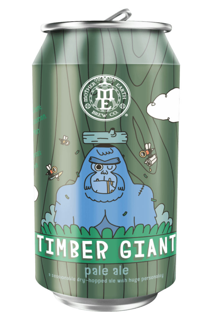 Mother Earth Brewing Co. Timber Giant Pale Ale brewed for Treefort 2019