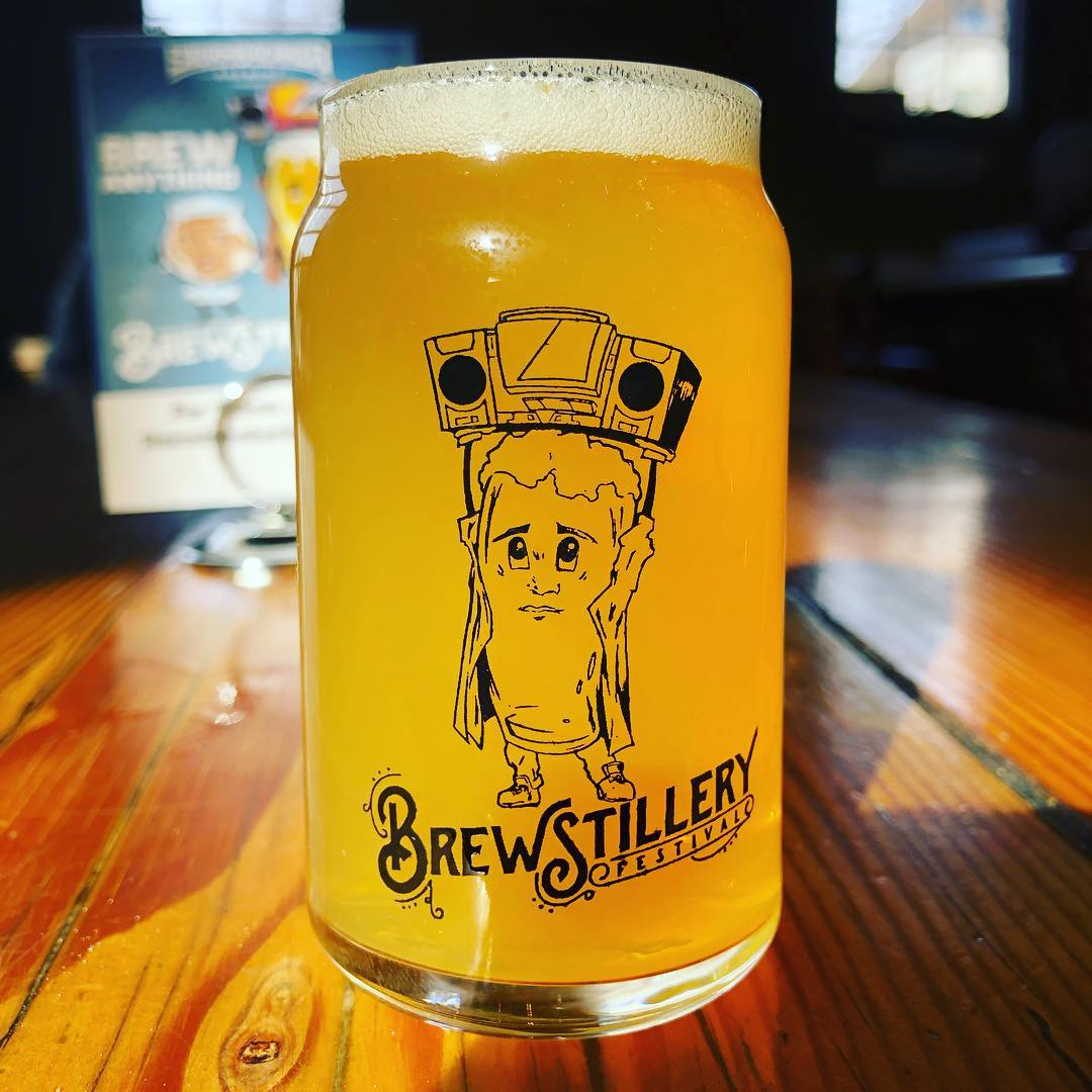 image of 2019 Brewstillery Glass courtesy of StormBreaker Brewing