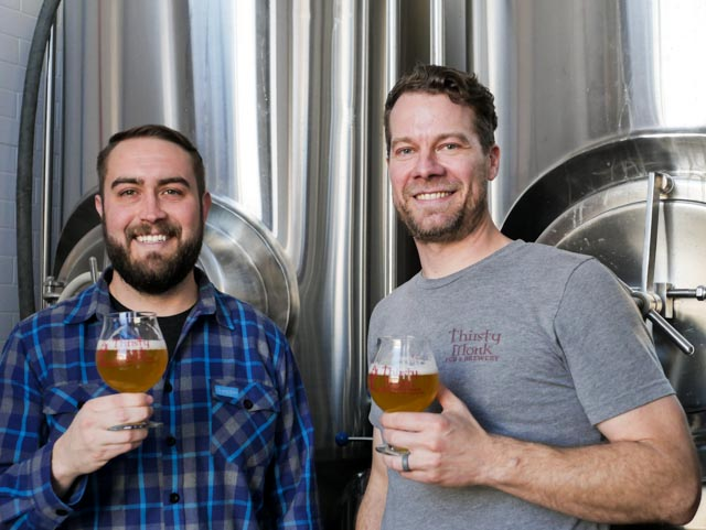 image of Chad Yakobson and Brian Grace courtesy of Thirsty Monk