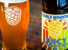 image of Juicy, Clearly Not Hazy IPA courtesy of Double Mountain Brewery