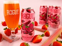 image of Rhubarb Schmubarb courtesy of Rogue Ales