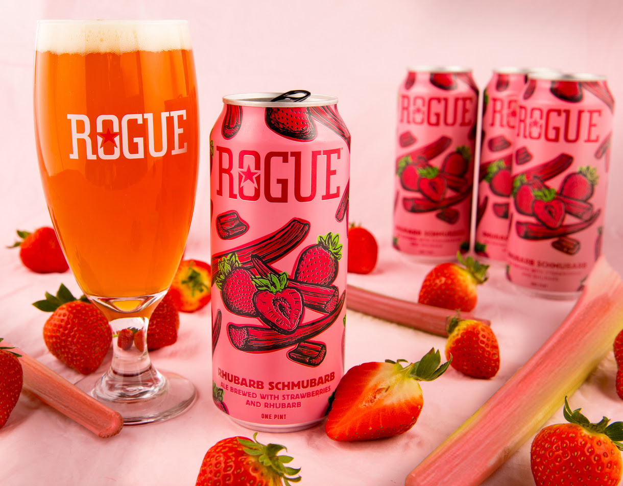 Rogue Ales Releases Rhubarb Schmubarb For Spring 2019