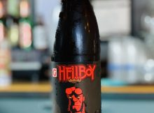 image of bottle of Hellboy courtesy of Gigantic Brewing