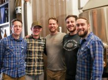 image of the brewers from Thirsty Monk Denver and Crooked Stave courtesy of Thirsty Monk