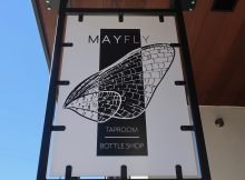 Mayfly Taproom & Bottle Shop in Portland's Kenton Neighborhood.