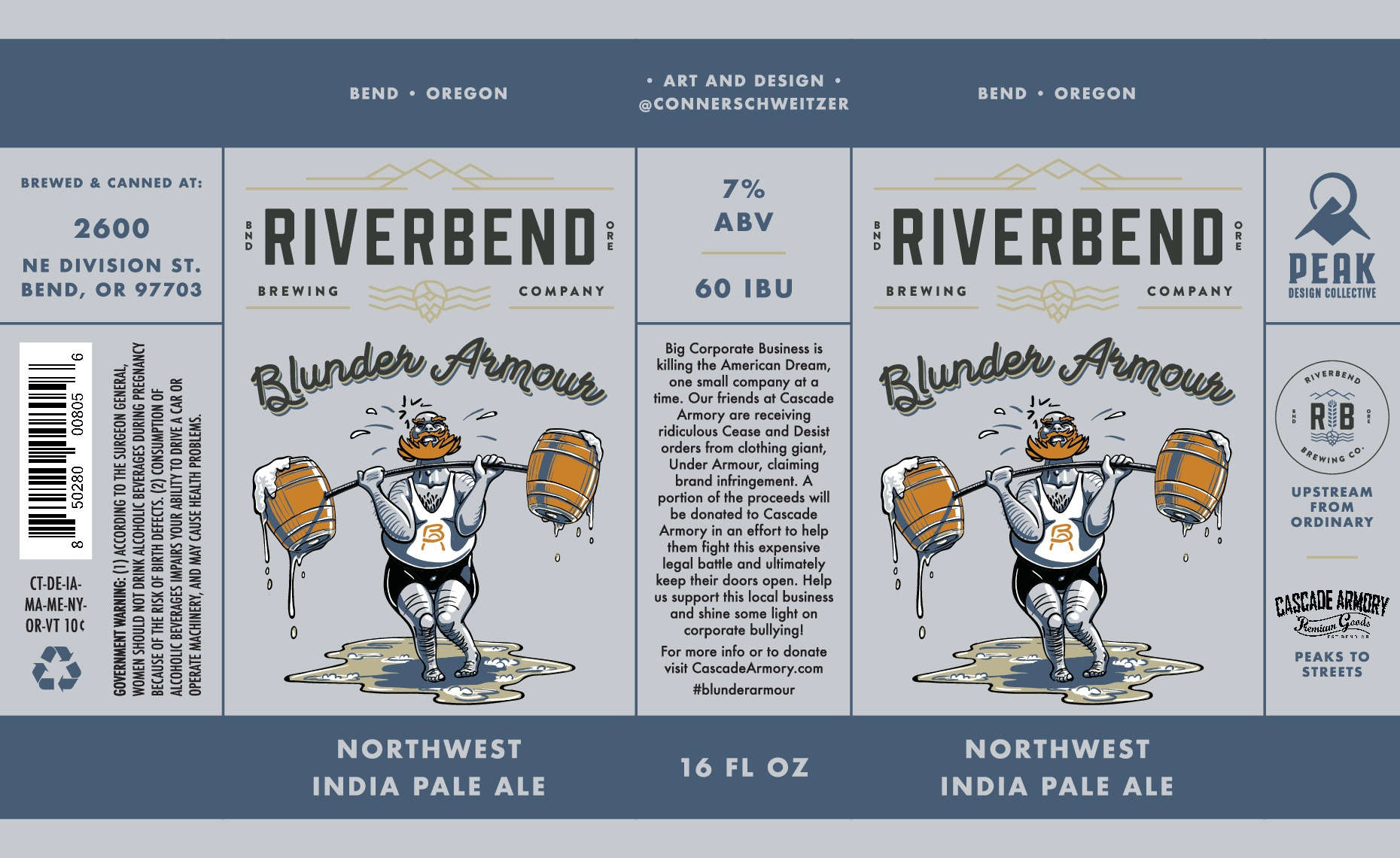 Riverbend Brewing Blunder Armour IPA