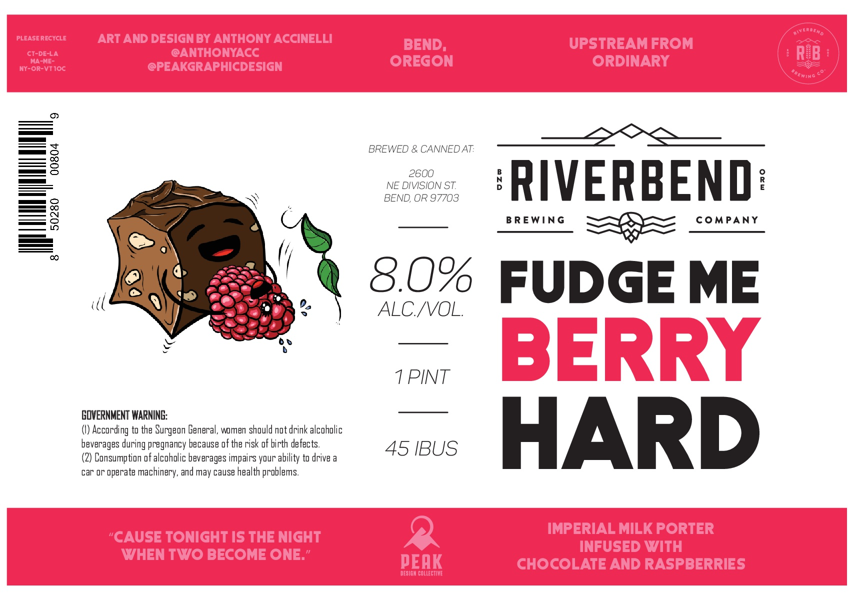 Riverbend Brewing Fudge Me Berry Hard