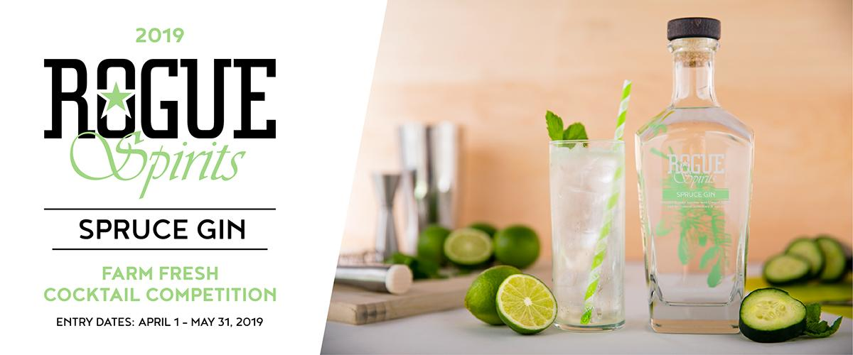 Rogue Farm Fresh Cocktail Competition Celebrates Gin & Craft Cocktails