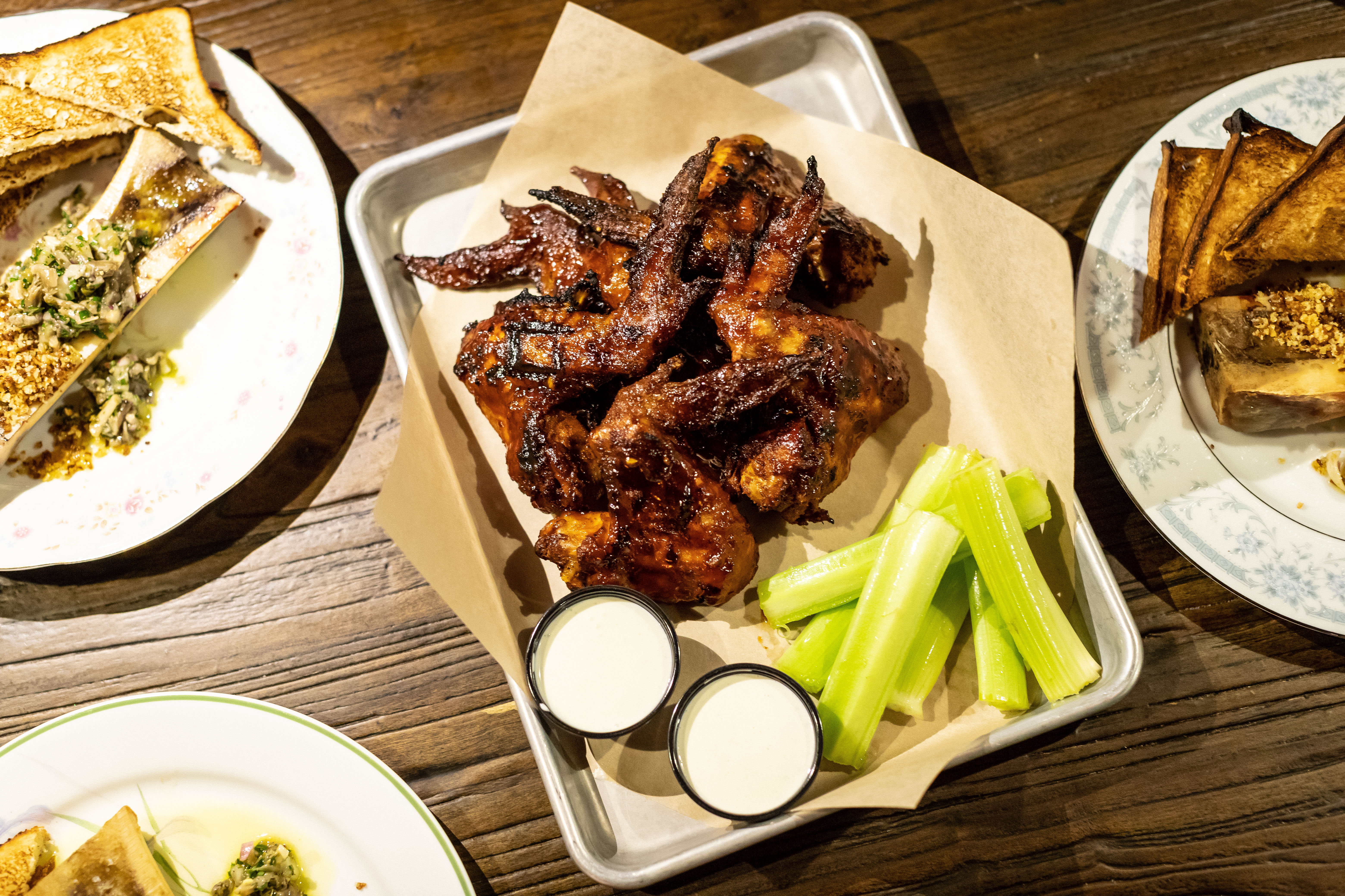 The famouse smoked wings at Von Ebert Brewing. (image courtesy of Von Ebert Brewing)