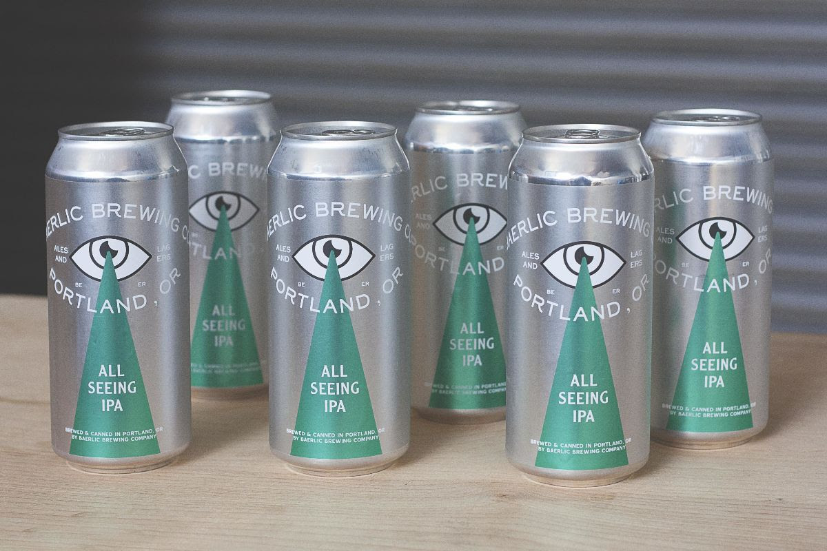image of All Seeing IPA courtesy of Baerlic Brewing