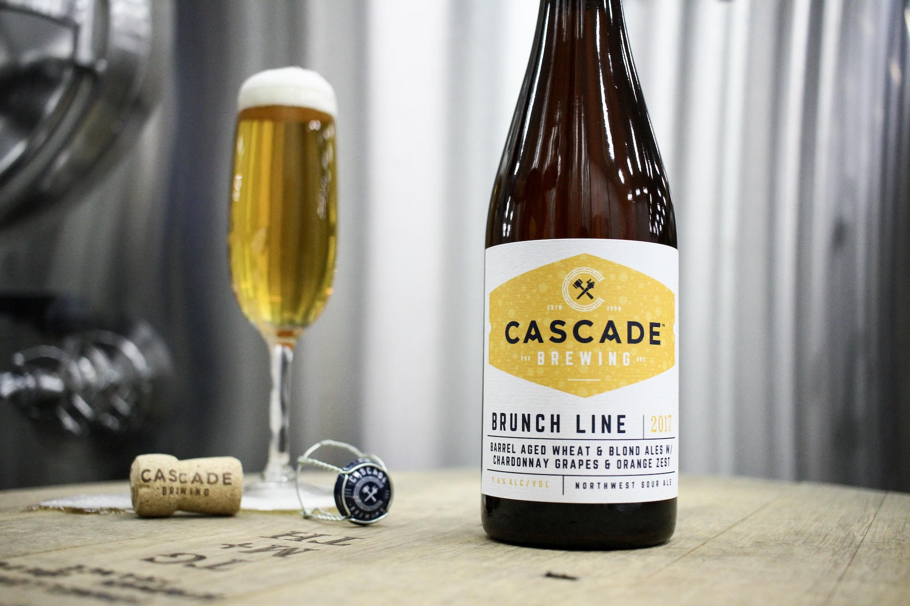 image of Brunch Line courtesy of Cascade Brewing