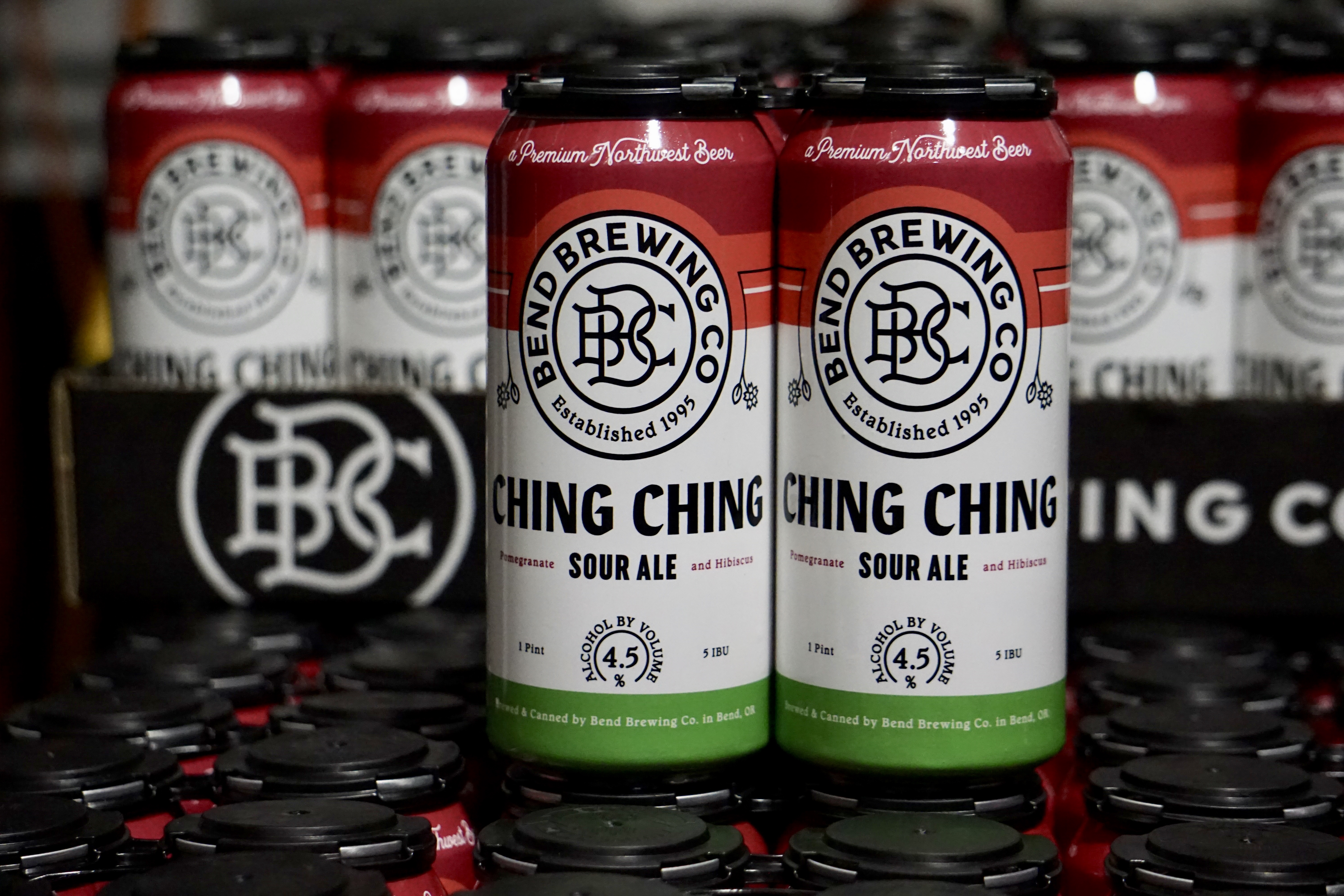 image of Ching Ching cans courtesy of Bend Brewing Co.