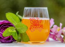 image of Cider Rite of Spring courtesy of the Northwest Cider Association