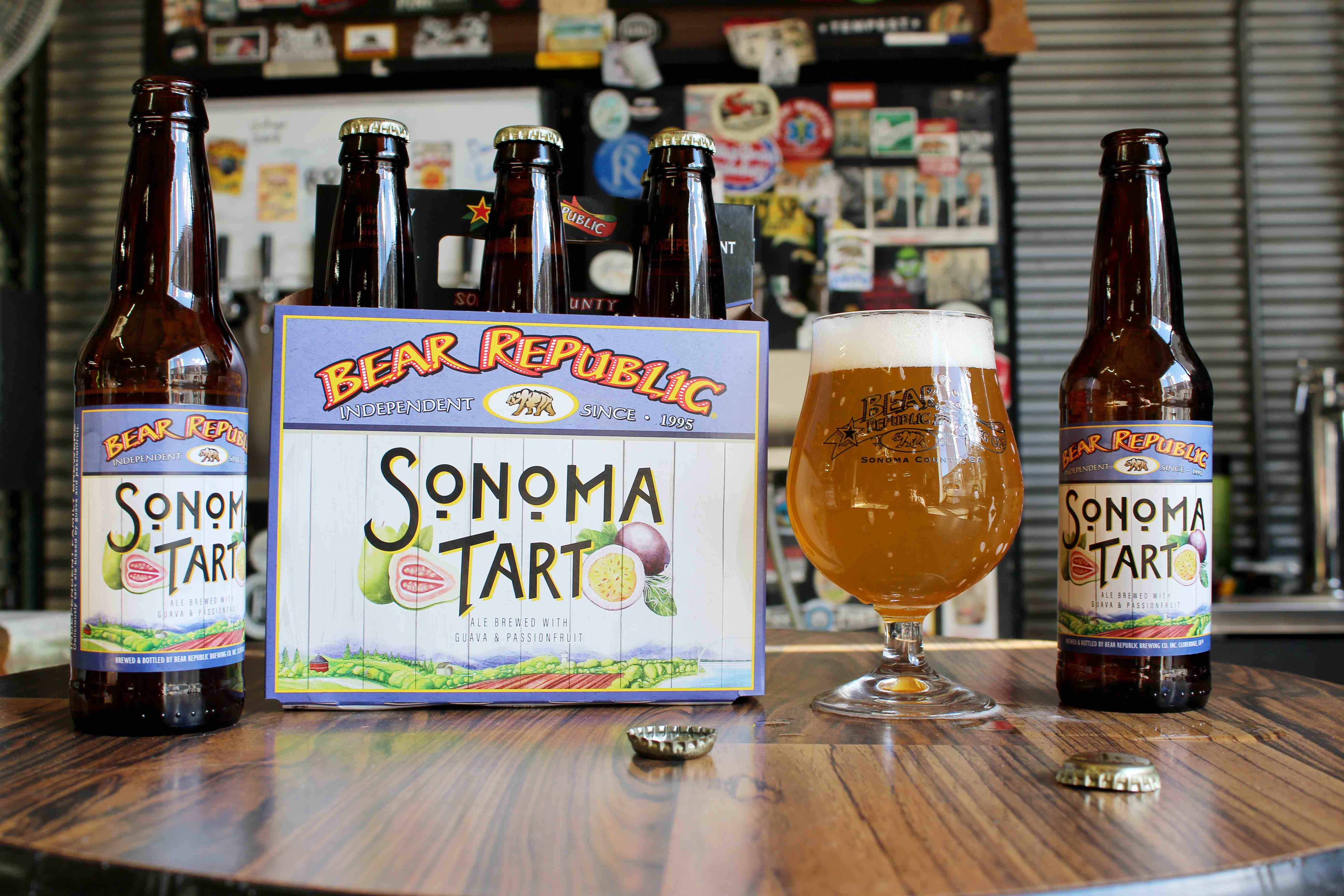 image of Sonoma Tart courtesy of Bear Republic Brewing