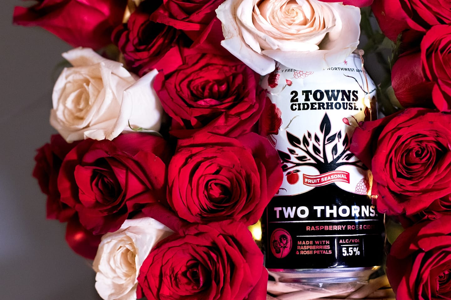 image of Two Thorns courtesy of 2 Towns Ciderhouse