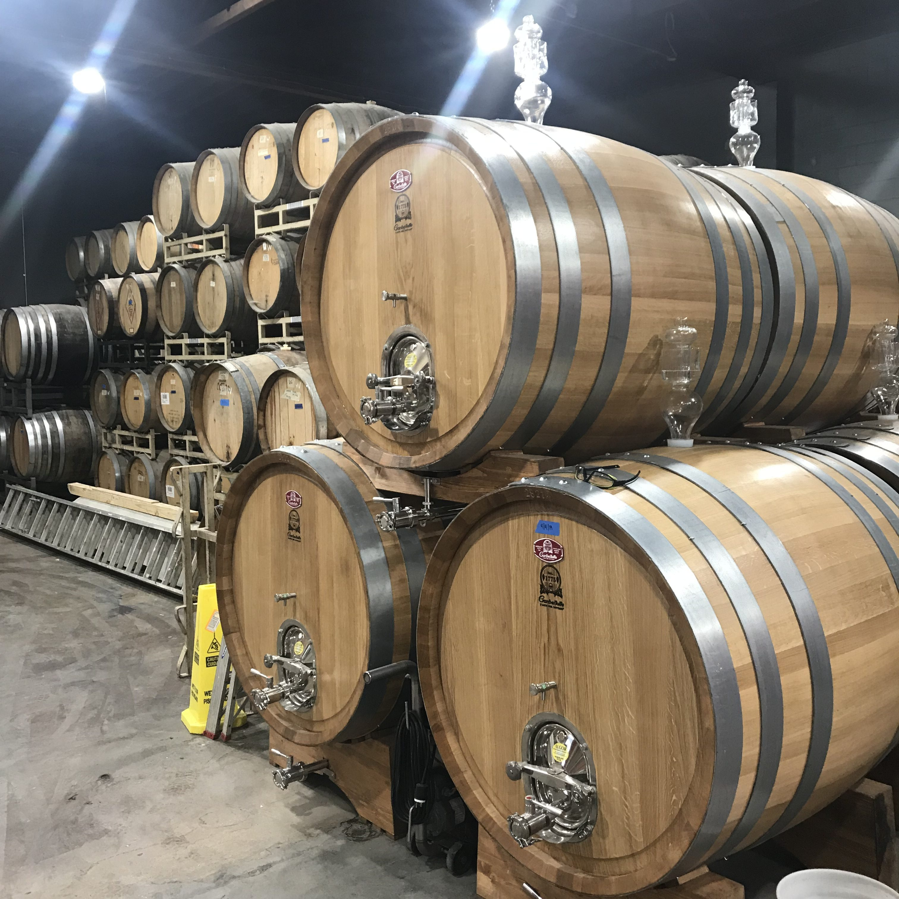 Barrel-aging will become an even larger focus at E9 Brewing. (image courtesy of E9 Brewing Co.)